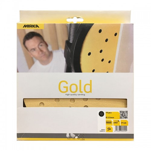 Gold disques 27 Trous Ø 225 mm blisters