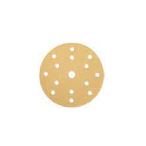 Disques abrasifs Gold NC 15 trous