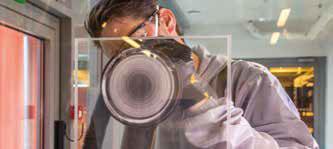 Étape 3 : Utiliser un Abralon 360 et une polisseuse rotative Mirka PS 1437 ou une polisseuse rotative sans aspiration Mirka RP 300NV 77 mm