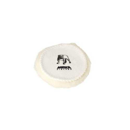 Peau de mouton naturelle - Ø77 mm (lot de 5)