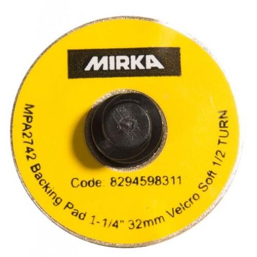 Plateau MIRKA Quick Lock 32mm Grip souple, 10/unité