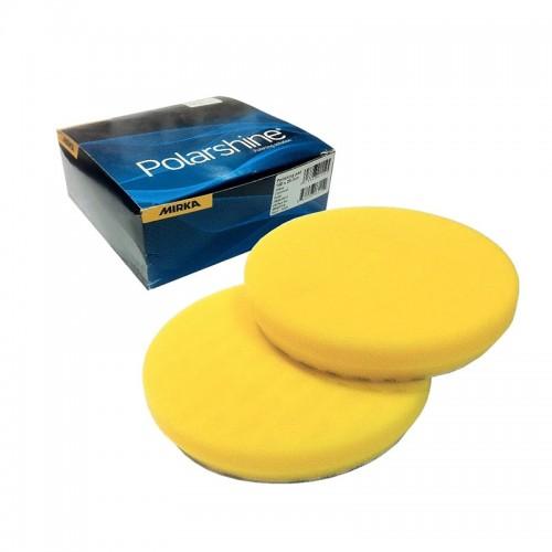 Mousse jaune lisse 150x25mm 2/unité