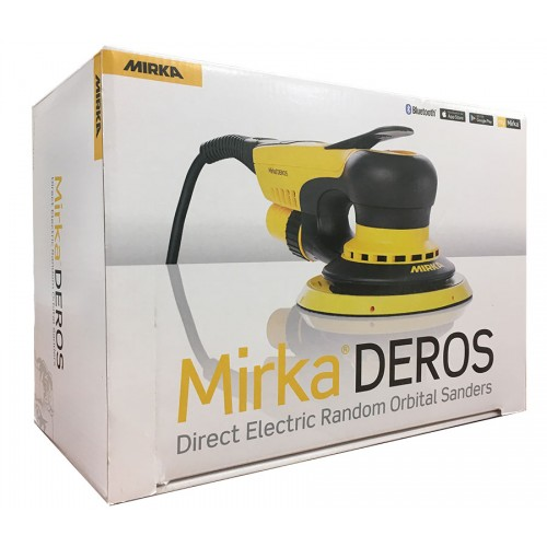 Ponceuse électrique orbitale Mirka Deros 680CV 150 mm 8,0 en boite carton