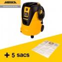 Aspirateur extracteur de poussière Mirka 1025 L + 5 sacs
