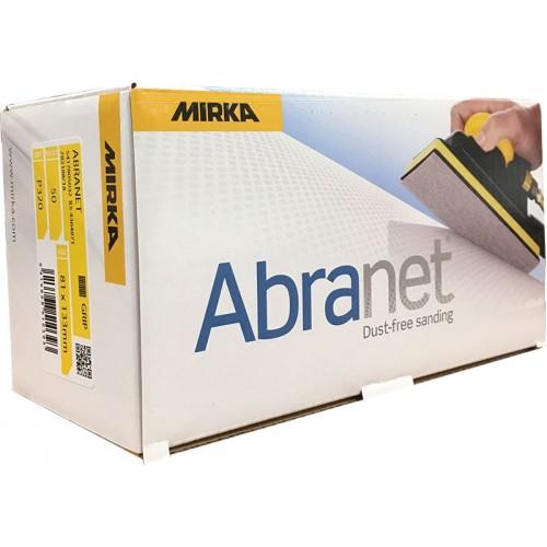 Abrasifs Abranet coupes 81 X 133 mm