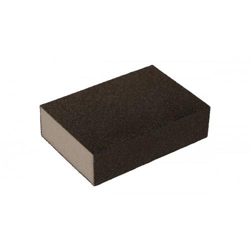Eponge abrasive 100x70x28mm M/F 60/100