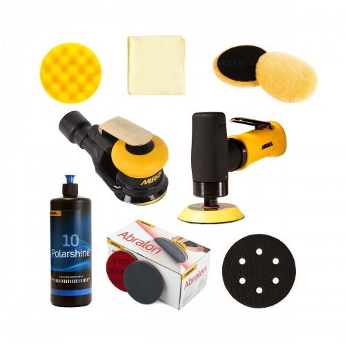 Kit rénovation des optiques de phares 2 - Consommables et machines