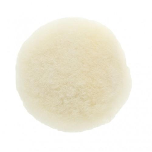 Peau de mouton naturelle  Ø 77 mm auto-agrippante, 5/unité