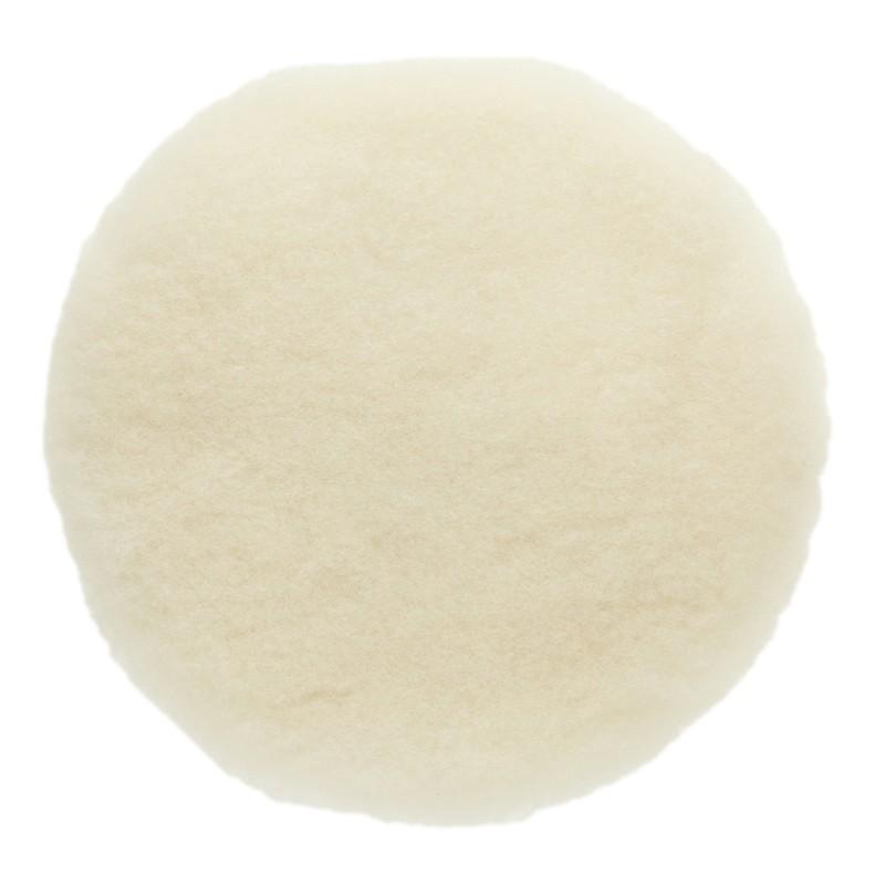 Peau de mouton naturelle - Ø180 mm (lot de 2)