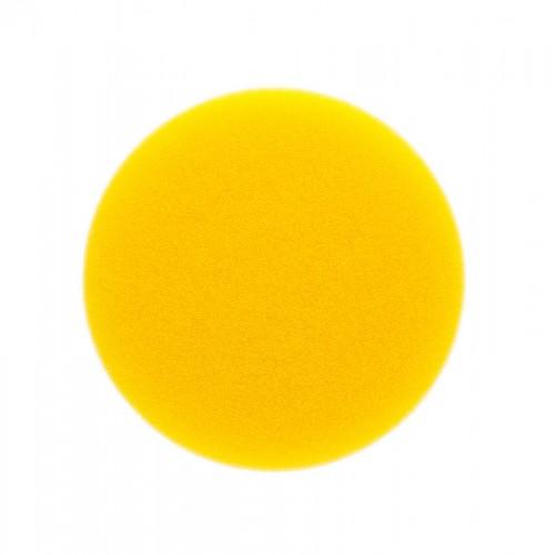 Mousse jaune lisse Ø 85 x 20 mm, 2/unité