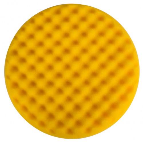 Mousse jaune avec alvéoles Ø 200 x 35 mm, 2/unité