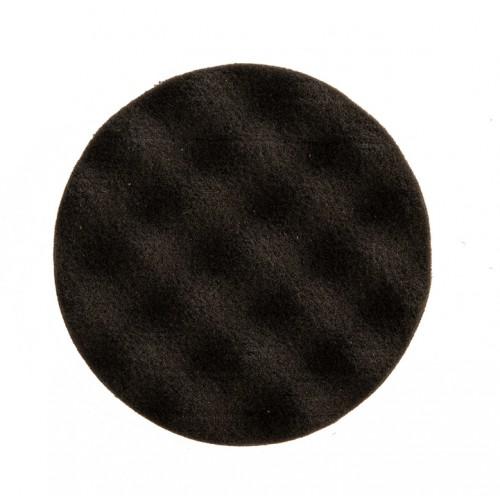 Mousse noire avec alvéoles Ø 85 x 25 mm, 2/unité