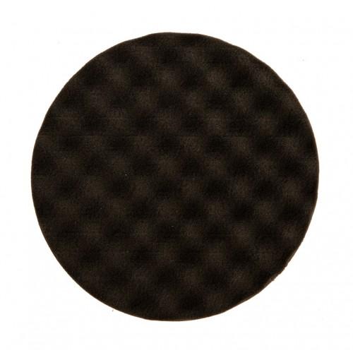 Mousse noire avec alvéoles Ø 150 x 25 mm, 2/unité