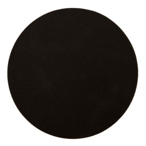 Mousse noir lisse Ø 200 x 25 mm, 2/unité