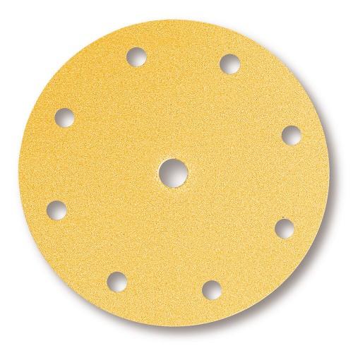 Gold disques auto-agrippants 9 Trous Ø 200 mm