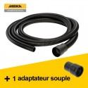 Tuyau Antistatique mirka 28MM X 4M + Adaptateur