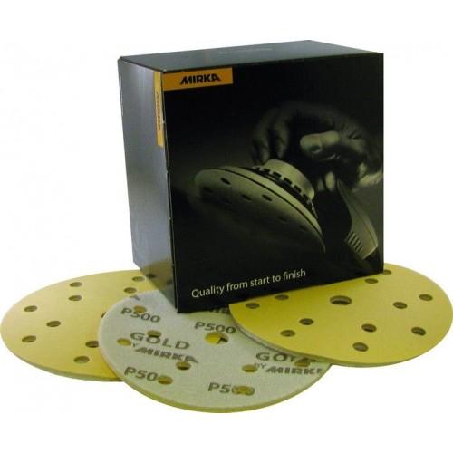 Disques Gold Soft auto-agrippants Ø 150 mm 15 trous