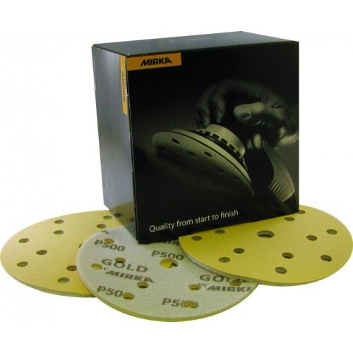 Disques Gold Soft auto-agrippants Ø 150 mm 15 trous
