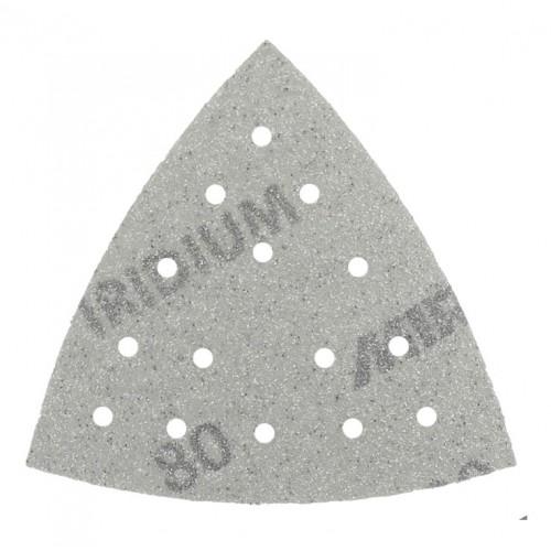 Triangles auto-agrippants Iridium 15 trous 93 x 93 x 93 mm