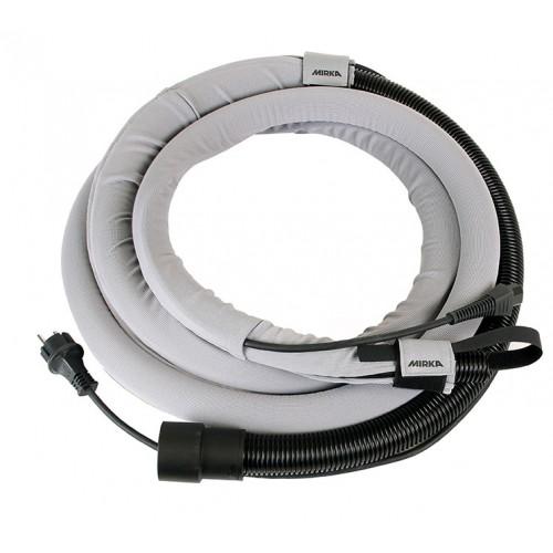 Gaine de protection + Câble CE 230V + tuyau 4 mètres