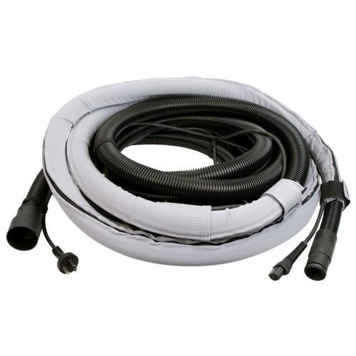 Gaine de protection + câble électrique + tuyau 10m