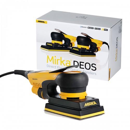 Ponceuse rectangulaire électrique Mirka® DEOS 353CV 81x133mm 3,0 boîte carton