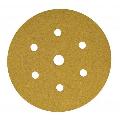 Disques Gold  7 Trous  Ø 150 mm auto-agrippants
