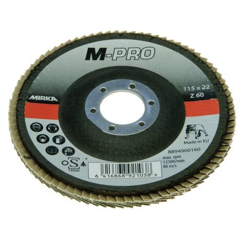 Disques à lamelles M-PRO Zirconium 115mm