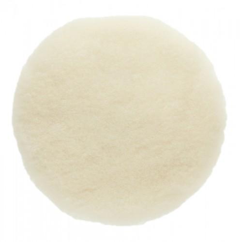 Peau de mouton naturelle auto-agrippante Ø180 mm, 2/unité