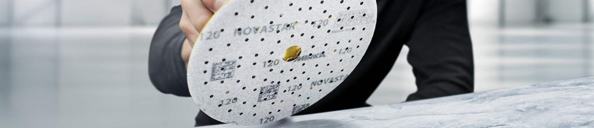 Mirka Novastar™ - abrasif haute qualité sur support film